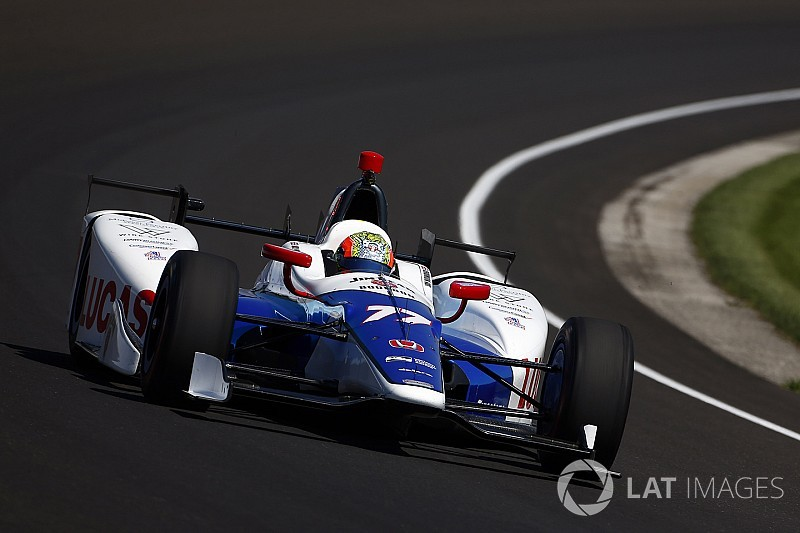 Indy 500: Howard tops practice, Alonso fourth on Day 4