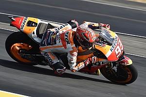 MotoGP Crónica de test Márquez lidera un apretadísimo warm up con 17 pilotos en ocho décimas