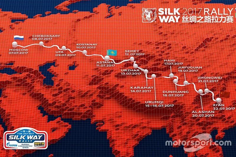 El Silk Way Rally 2017 ya tiene recorrido