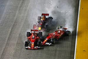 Fórmula 1 Noticias Ferrari y Verstappen serán investigados por el accidente en el arranque