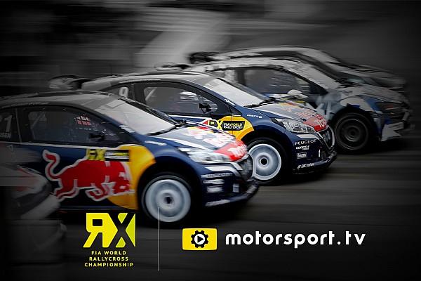 Speciale Motorsport.com Motorsport.tv trasmetterà in esclusiva il FIA World Rally Cross Championship in UK e Irlanda