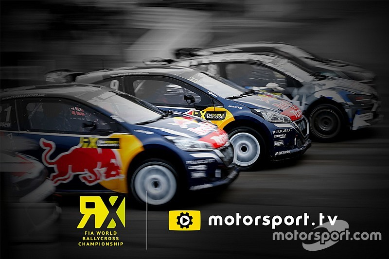 Motorsport.tv va diffuser le World RX en direct et en exclusivité au Royaume-Uni et en Irlande