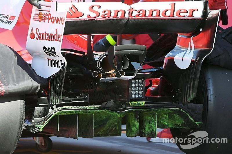 Test Hungaroring: la Ferrari prova un diffusore per le piste veloci!