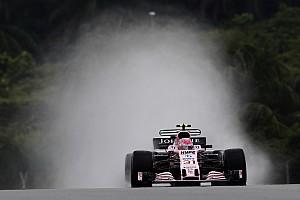 Formule 1 Réactions Ocon:
