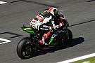 World Superbike FP1 WorldSBK Spanyol: Rea memimpin, Honda tercecer