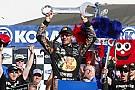 NASCAR Sprint Cup Truex toma una dramática victoria en  Las Vegas