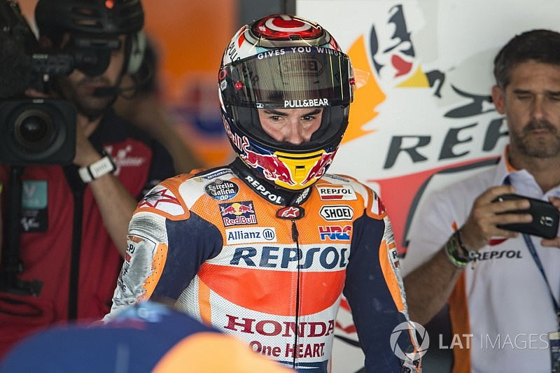 "Marquez reveals he was ""losing hair"" in tough start to 2017"