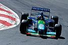 Filho de Schumacher guia Benetton do primeiro título do pai