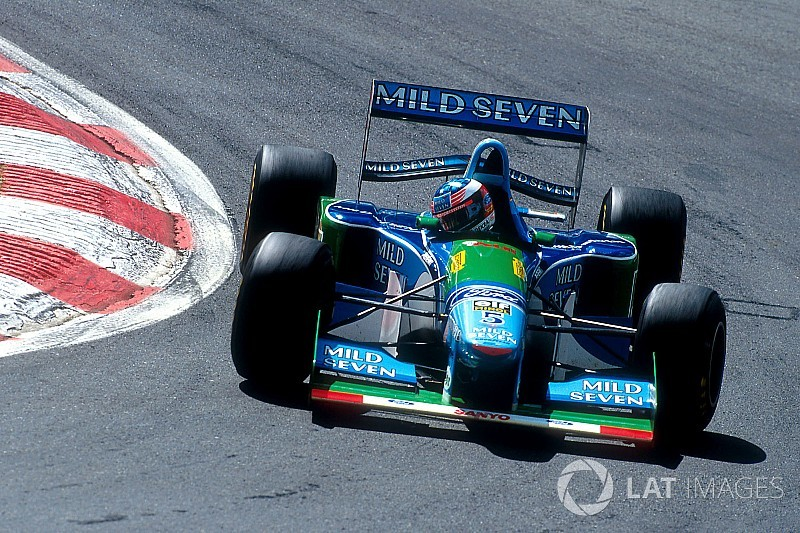 Син Шумахера сяде за кермо Benetton батька в Бельгії