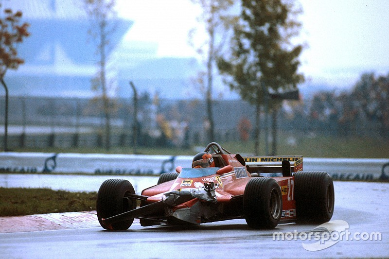 1981 Canadian Grand Prix - Gilles Villeneuve never surrenders