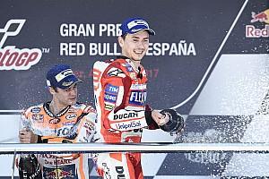 """MotoGP Noticias de última hora Lorenzo: """"Empiezo a disfrutar mucho con la Ducati"""""""