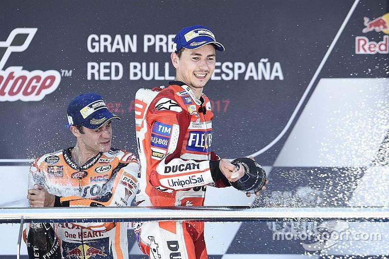 "Lorenzo: ""Empiezo a disfrutar mucho con la Ducati"""