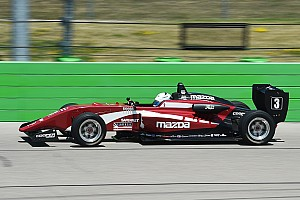USF2000 Qualifying report Iowa USF2000: Askew takes pole for his first ever oval race