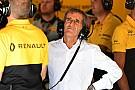 Renault se arrisca com McLaren, reconhece Prost