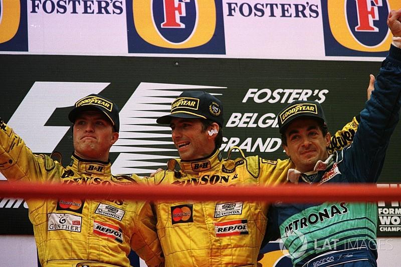 Damon Hill és az utolsó futamgyőzelem