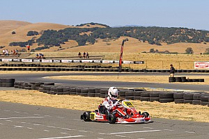 Kart Qualifying report Askew, d'Orlando lead qualifying at Sonoma