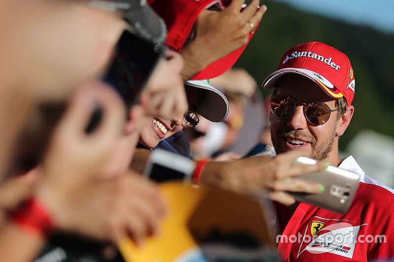 """Vettel: """"Esperienza interessante con le gomme larghe. Voglio riprovarle"""""""