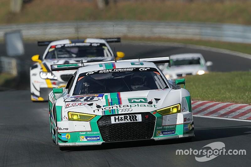 Im Regen: Land-Audi mit De Phillippi/Mies auf der Pole-Position