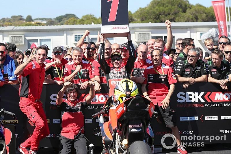 """Bautista entusiasta del trionfo e della V4: """"Grazie Ducati, questa moto è competitiva"""""""