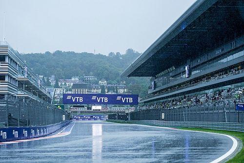 Directo: ¡la clasificación de la F1 en Rusia, con lluvia!