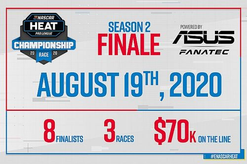 ASUS e Fanatec se unem para as finais da eNASCAR Heat Pro League