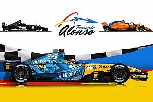 Alonso: dalla Minardi alla McLaren, tutte le monoposto dello spagnolo in F1