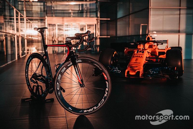 McLaren ingresa en el ciclismo profesional