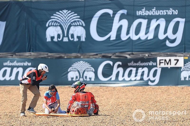 Dall'Igna: Was den Thailand-Highsider von Jorge Lorenzo ausgelöst hat