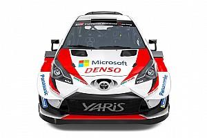 Fotos: la decoración del Toyota Yaris WRC de Tanak, Latvala y Meeke para 2019