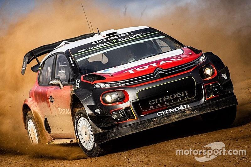 Ogier, convencido del potencial del Citroën tras el primer test