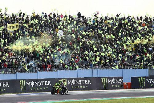 Valentino Rossi ému par ses adieux au public italien