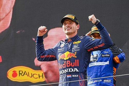 F1-update: Historische hattrick Verstappen, off-day van Perez