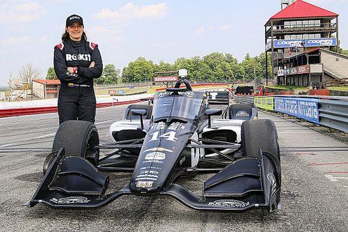 """Tatiana Calderón: """"Me gustaría ver qué puedo hacer en IndyCar"""""""