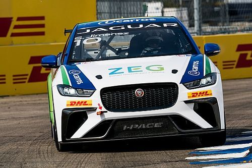 Jimenez es el primer campeón del Jaguar I-PACE eTrophy