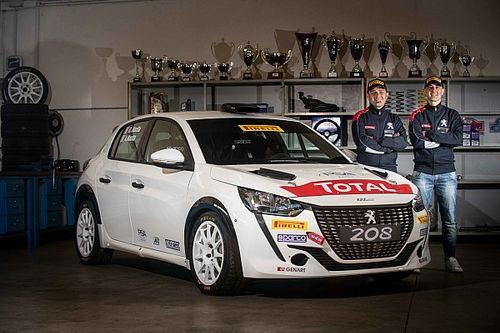 CIR 2021: Peugeot schiera Andrea Nucita sulla 208 Rally4