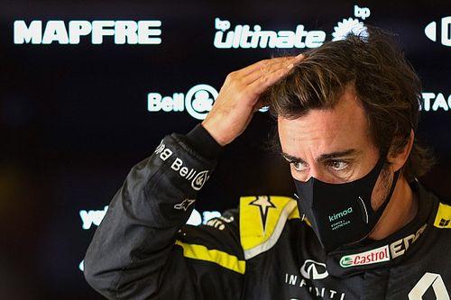 Алонсо не примет участия в презентации Alpine F1