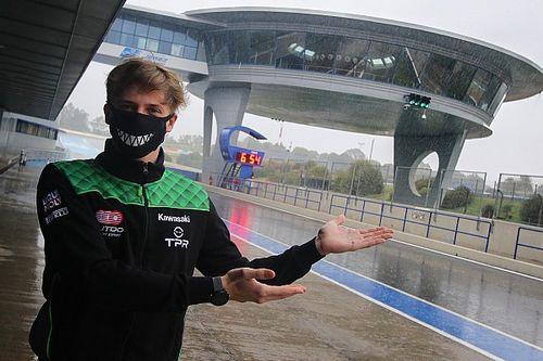 La pluie gâche les tests de Jerez, Zarco se remet dans le bain