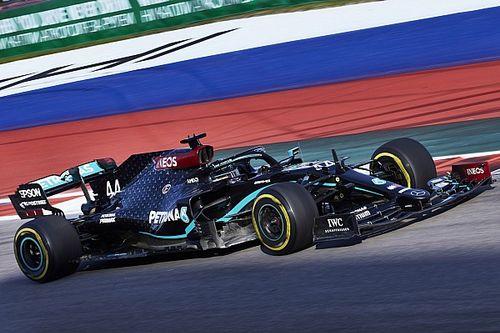 Rusya GP 3. antrenman: Hamilton 0.7 saniye farkla lider, Sainz üçüncü!