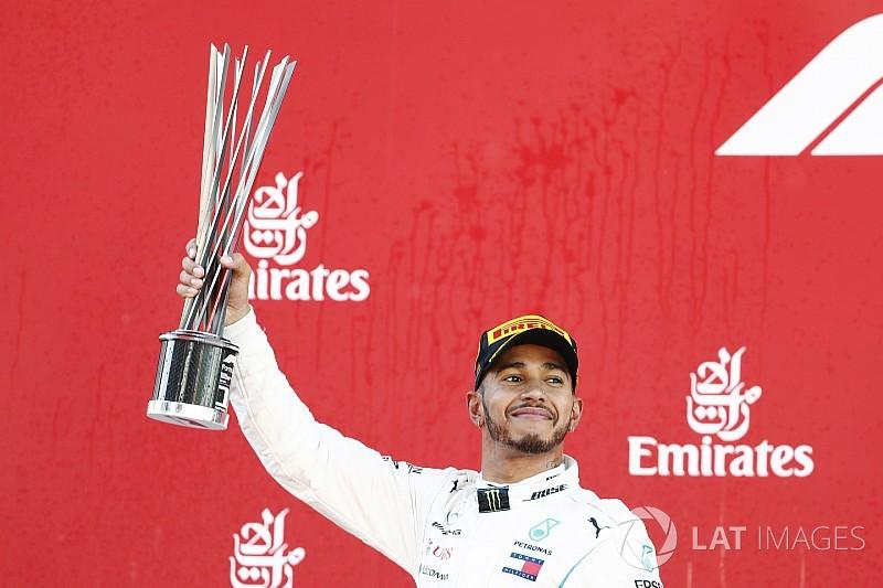 Hamilton no tuvo rival en España y Pérez en 9°