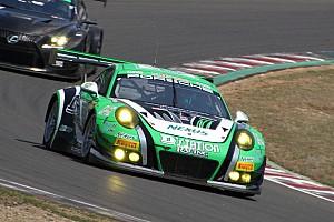 スーパー耐久 予選レポート スーパー耐久第2戦菅生予選:D'station Porscheが今季初ポールを獲得