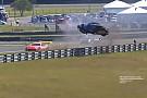 Porsche Piloto que voou sobre o guard rail em Curitiba recebe alta