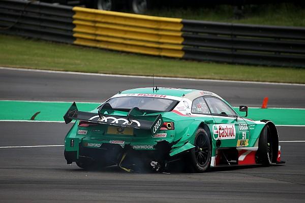 DTM Auslöser für Start-Crash: Kupplungsprobleme bei Nico Müller
