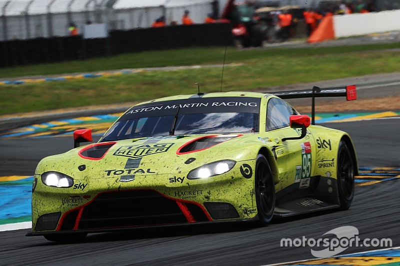 Aston Martin Shuffles Wec Line Ups For Remainder Of 2018