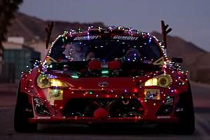 Автомобілі Важливі новини Відео: Нові сани Санти – Toyota GT86 з двигуном Ferrari
