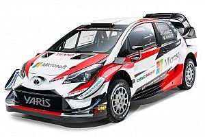 Toyota ha presentato la Yaris WRC 2018 con le novità aerodinamiche