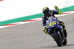 Rossi saldrá junto a Márquez en la parrilla