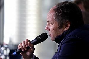 DTM Interview Gerhard Berger: