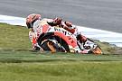 MotoGP Australian MotoGP: Marquez fastest in wet warm-up