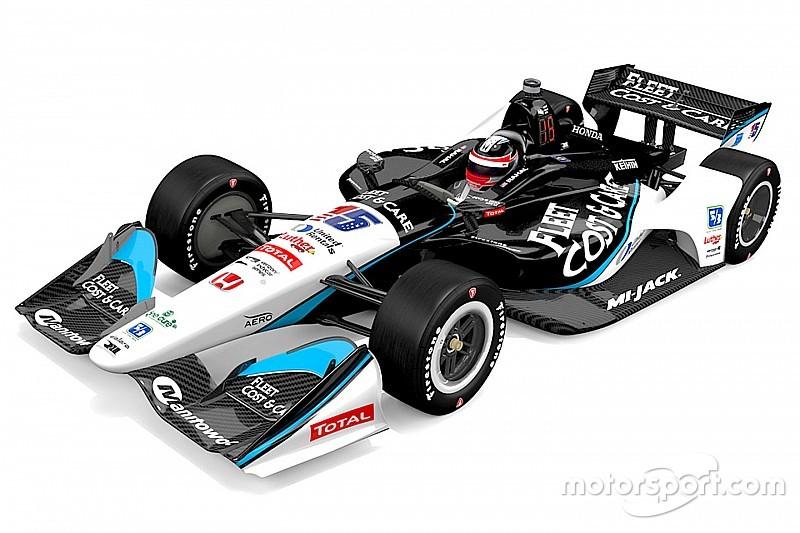 RLLR reveals Graham Rahal's livery for Texas IndyCar race