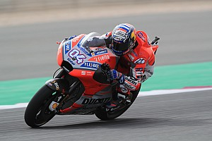 MotoGP Practice report Qatar MotoGP: Dovizioso pips Rossi in first practice of 2018